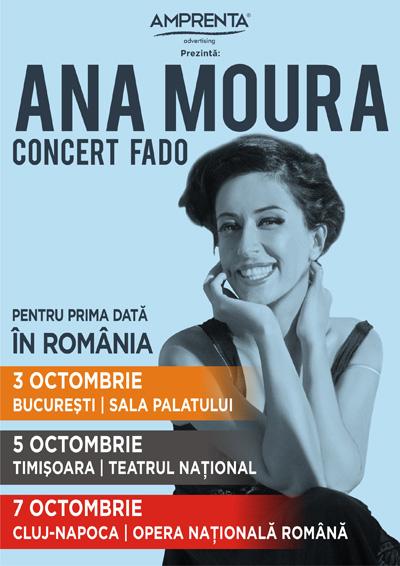 Ana Moura in Romania