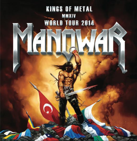S-au pus in vanzare biletele pentru concertul MANOWAR din Istanbul
