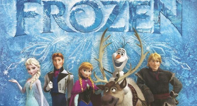 Regatul de gheata (Frozen), din decembrie 2013