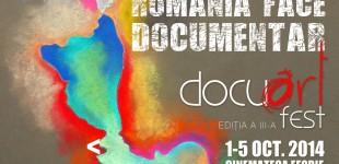 Filmele din competitia oficiala a Bucuresti Docuart Fest 2014 au fost selectate
