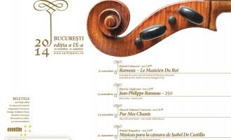 Joi, 30 octombrie, la Palatul Cotroceni – Rameau, muzicianul Regelui Soare