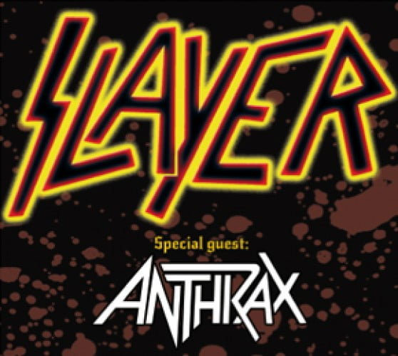 CONCERT SLAYER SI ANTHRAX in Sofia