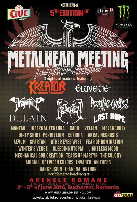 Metalhead la Bucuresti!!!