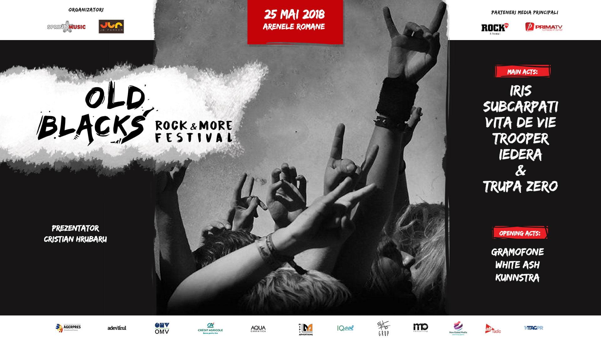REGULI DE ACCES @OLD BLACKS, ROCK & MORE FESTIVAL