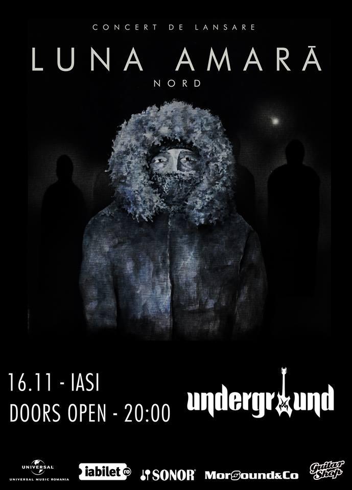 Luna Amară pregătește următoarea expediție de promovare a albumului NORD în capitala Moldovei și capitala Basarabiei.