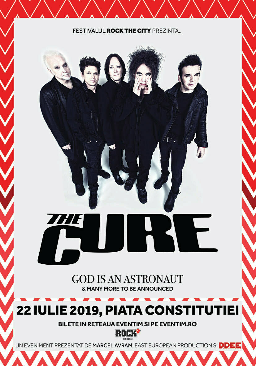 ROCK THE CITY FESTIVAL PREZINTA THE CURE , GOD IS AN ASTRONAUT & many more!