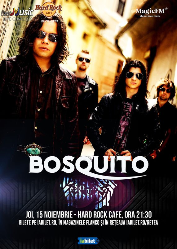 Concert Bosquito in Hard Rock Cafe