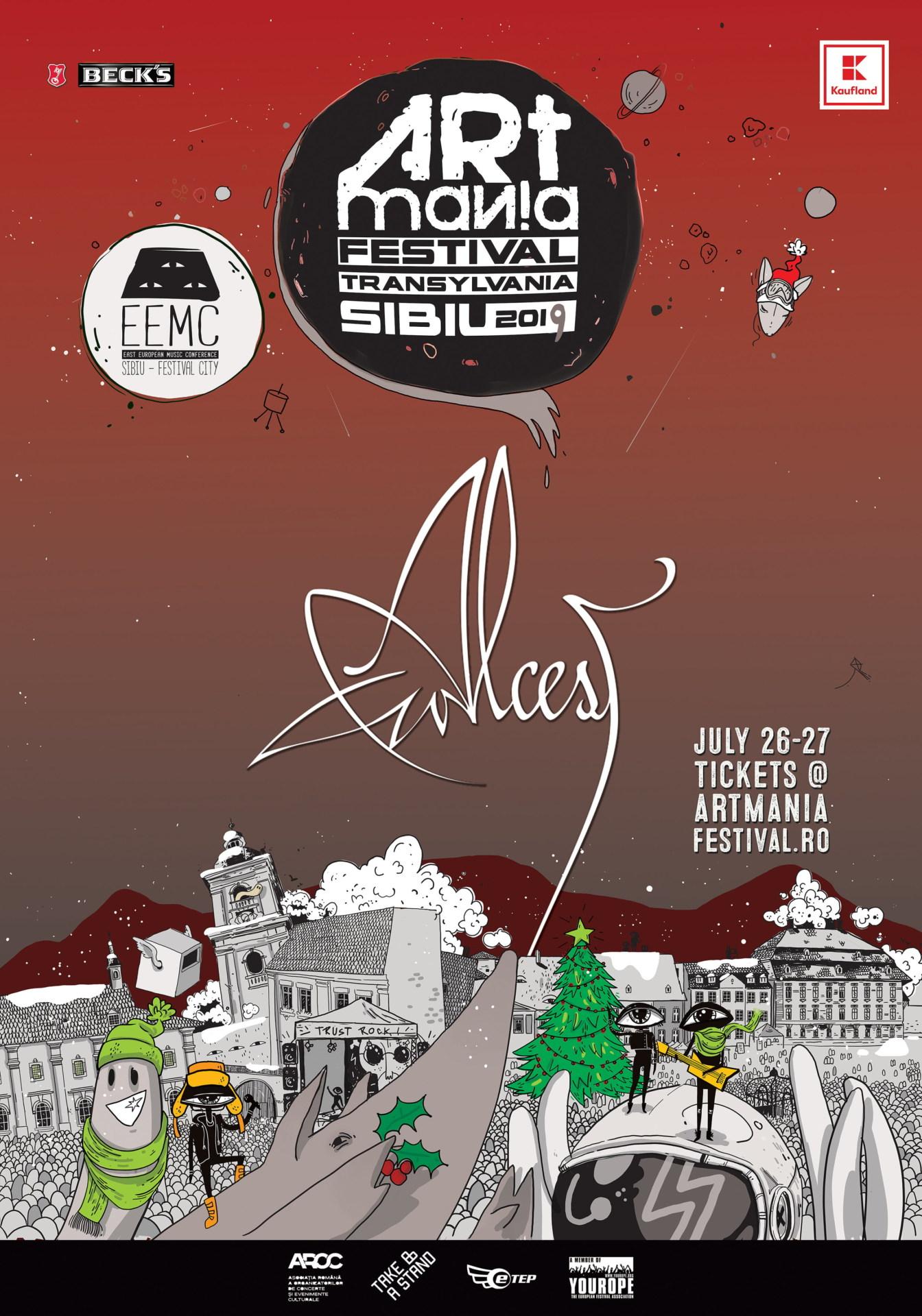 Blackgaze francez la ARTmania Festival 2019: Alcest vine pe scena din Piata Mare a Sibiului
