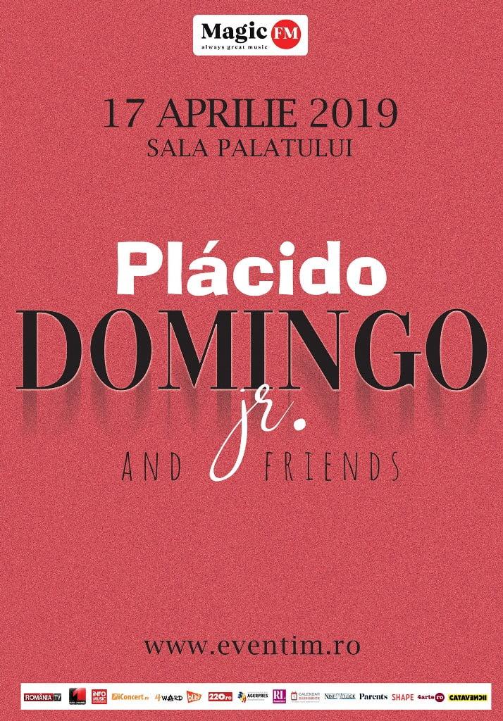 În aprilie, Plácido Domingo Jr. concertează pentru prima dată în România