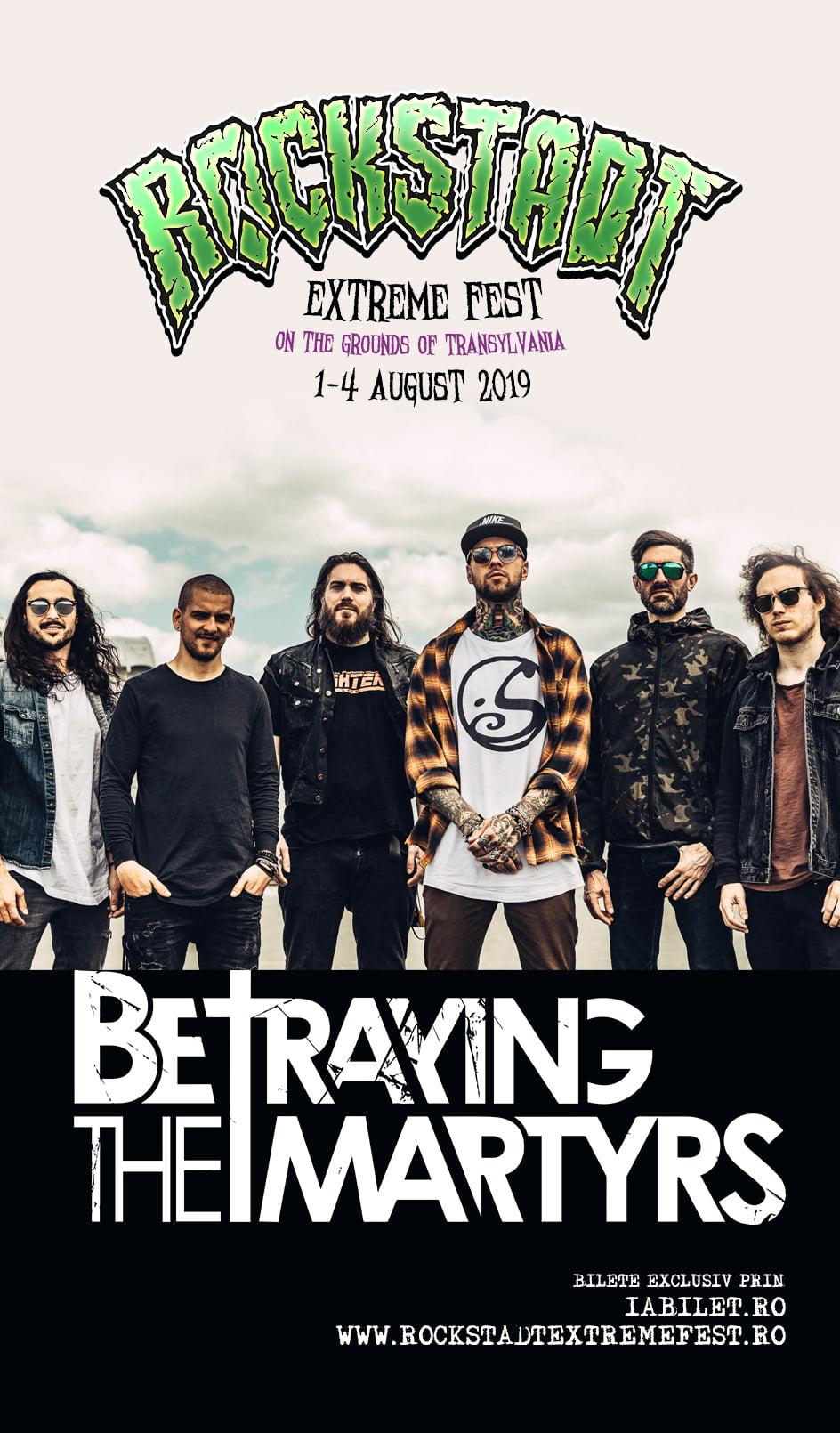 Metale extreme de la Paris la Rockstadt Extreme Fest 2019: Betraying the Martyrs