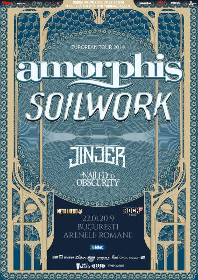 Amorphis si Soilwork la Bucuresti: Program si reguli de acces