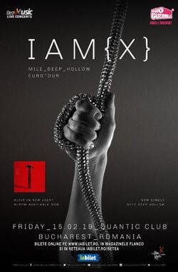 IAMX  in Quantic, seara nebuna, seara de nota 20