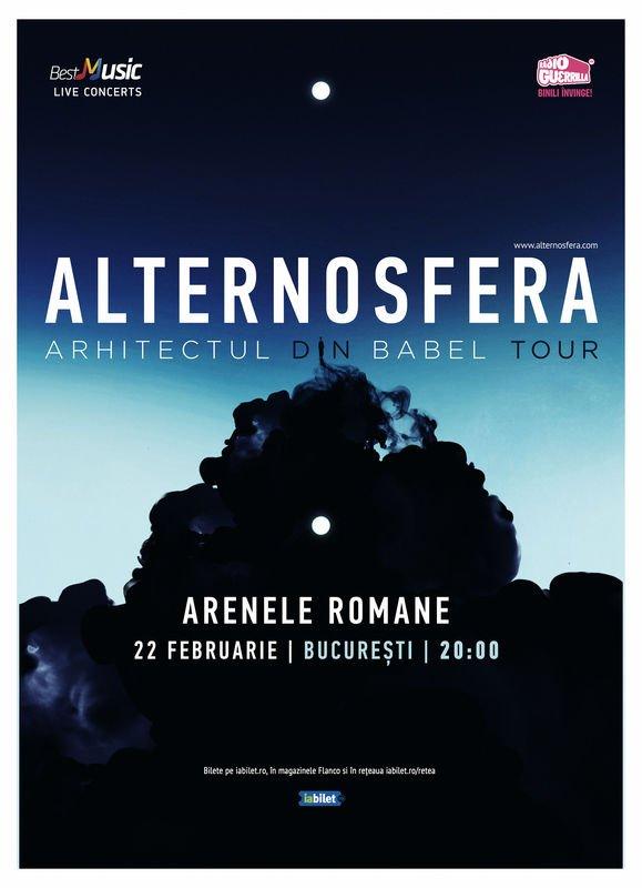 Alternosfera: numele noului album si concert aniversar de 20 de ani de la infiintarea trupei