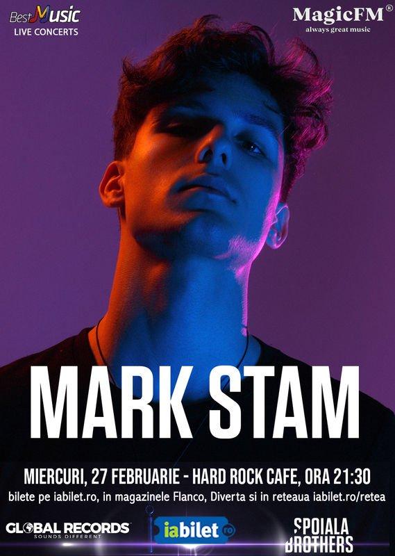 Concert Mark Stam in Hard Rock Cafe