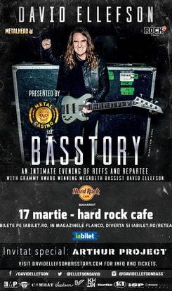 Basistul Megadeth vine la Bucuresti pe 17 martie