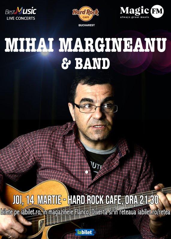 Concert Mihai Margineanu in Hard Rock Cafe