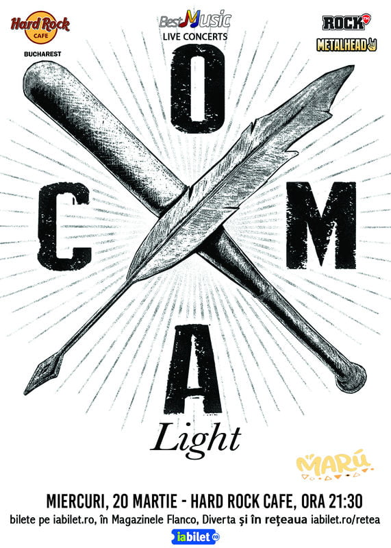 Concert Coma – Light/Acustic in Hard Rock Cafe