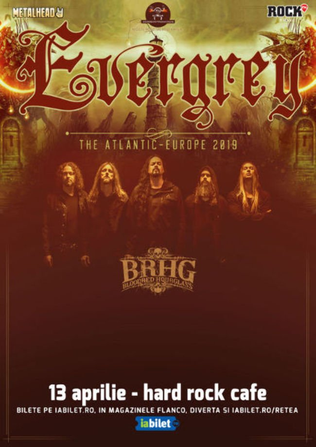 Evergrey la Hard Rock Cafe : Program si Reguli de acces