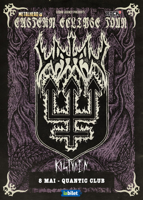 Watain la Quantic: Kistvaen deschide showul. Program si reguli de acces
