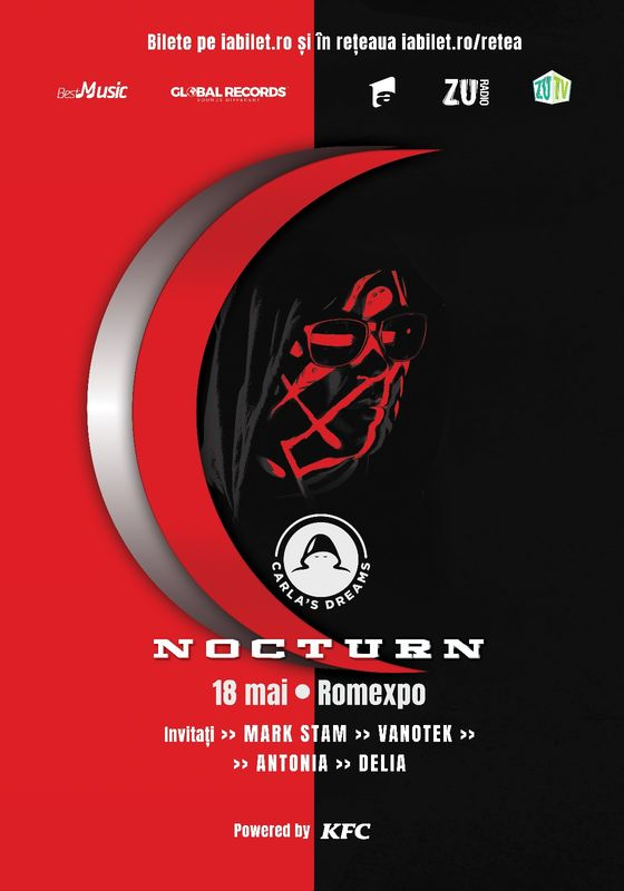 "Carla's Dreams – ""Nocturn"" la Romexpo: Program si Reguli de acces"