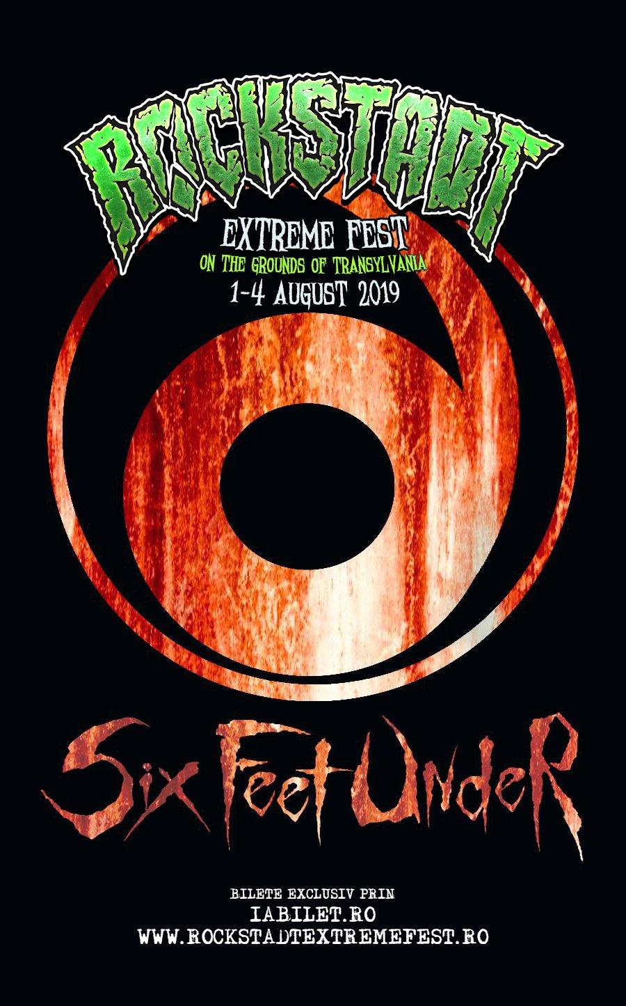 Death metal american la Rockstadt Extreme Fest 2019: Six Feet Under pentru prima dată în România!