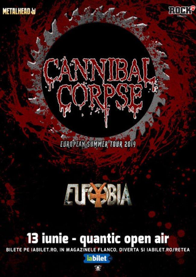 Cannibal Corpse la Quantic Open Air!