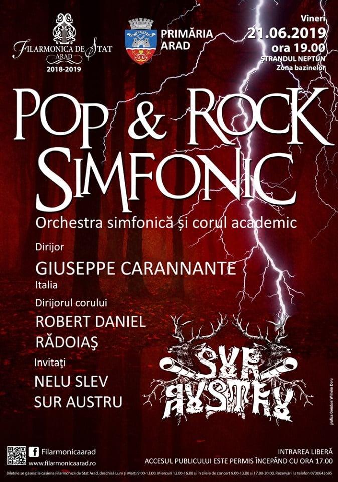 Concert Sur Austru simfonic la Arad