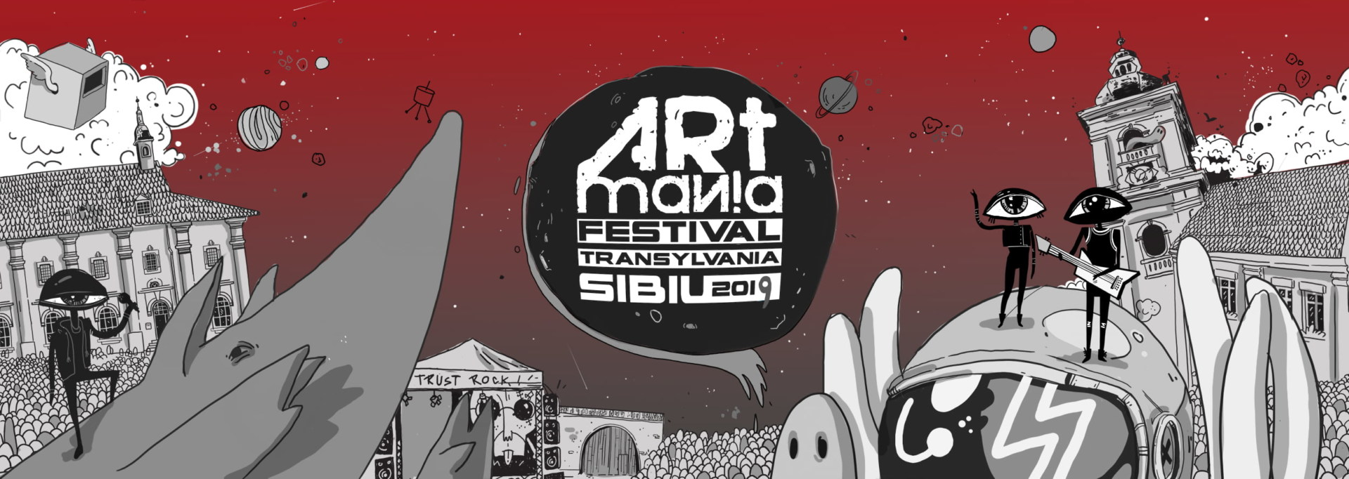Noutati in line-up si bilete pe zile la ARTmania Festival 2019