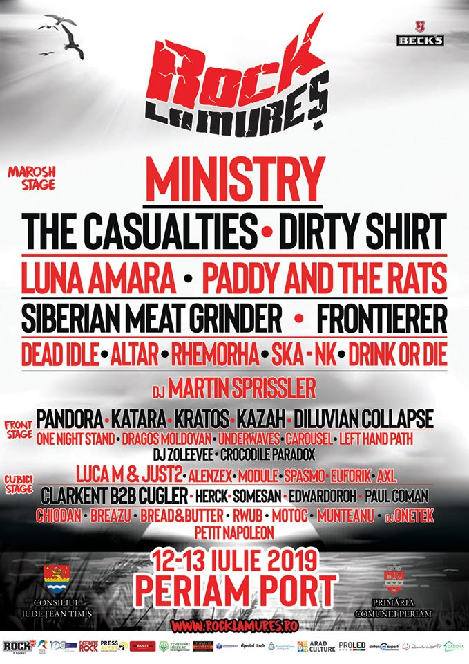 LUNA AMARĂ la Festivalul Rock la Mureș