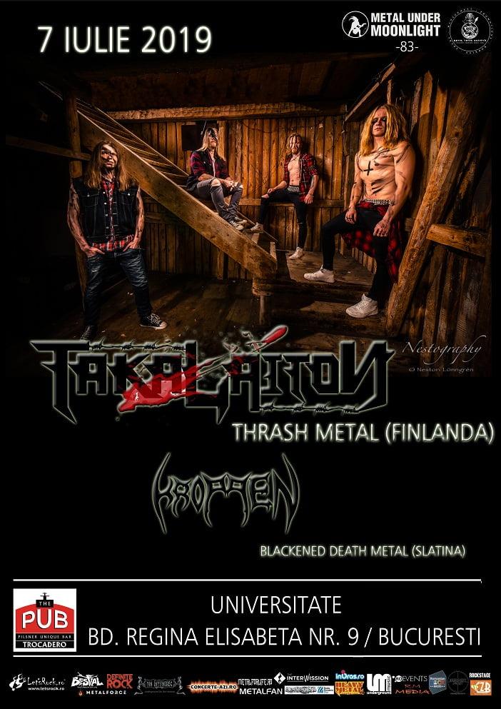 Takalaiton – concert thrash metal finlandez, duminica, la Bucuresti