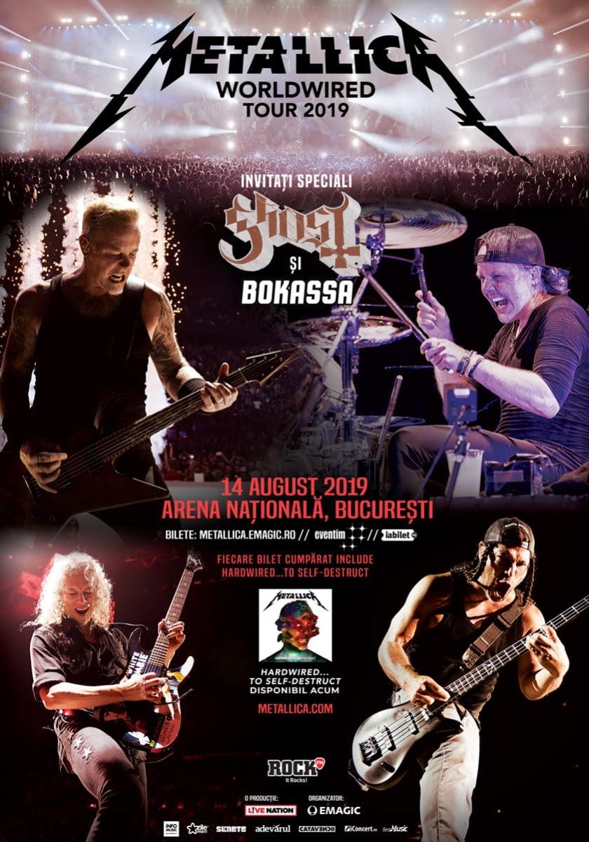 Programul și regulile de acces la concertul Metallica