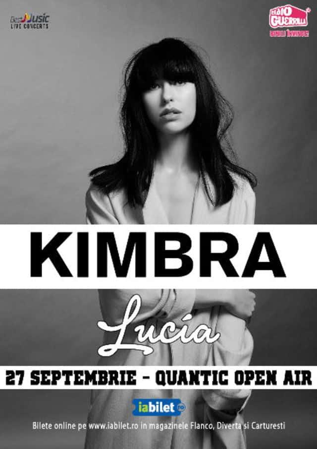 KIMBRA in premiera la Bucuresti, pop, blues and jazz intr-u concert intim