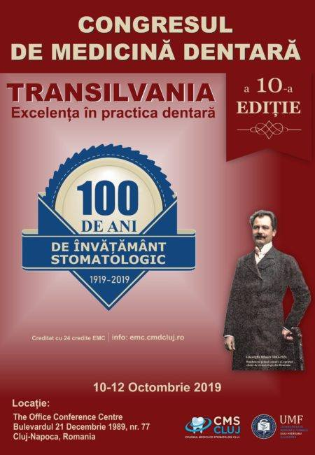Congresul de Medicină Dentară Transilvania, la editia a X-a