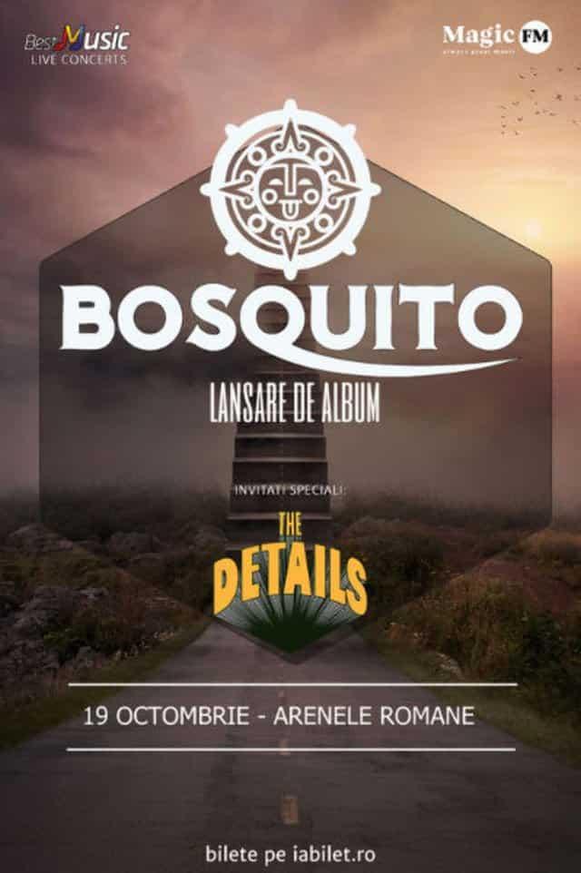 Bosquito a lansat o piesa noua si anunta ca va canta alaturi de cvartetul Passione la Arenele Romane