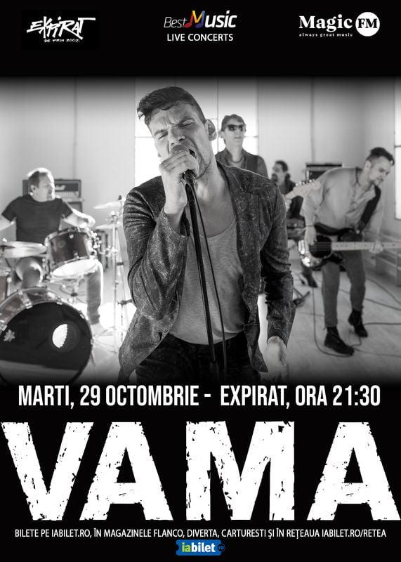 Concert VAMA la Expirat pe 29 Octombrie