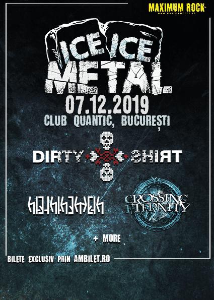 Primele trei trupe confirmate pentru Ice, Ice Metal – 7 decembrie 2019 @ Quantic, București