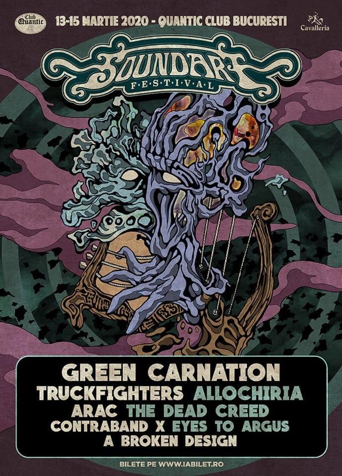 """Soundart Festival 2020 prezinta Green Carnation si prima editie a concursului """"Sound On Paper"""""""