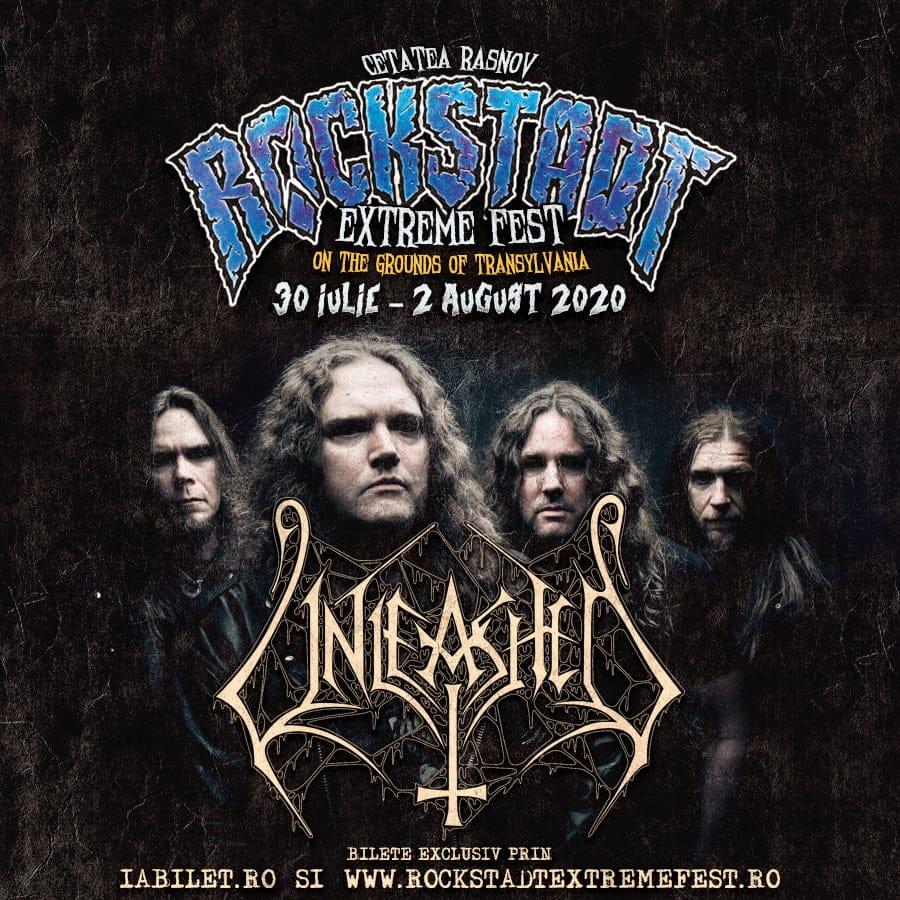 Death metal suedez la Rockstadt Extreme Fest 2020: Unleashed!