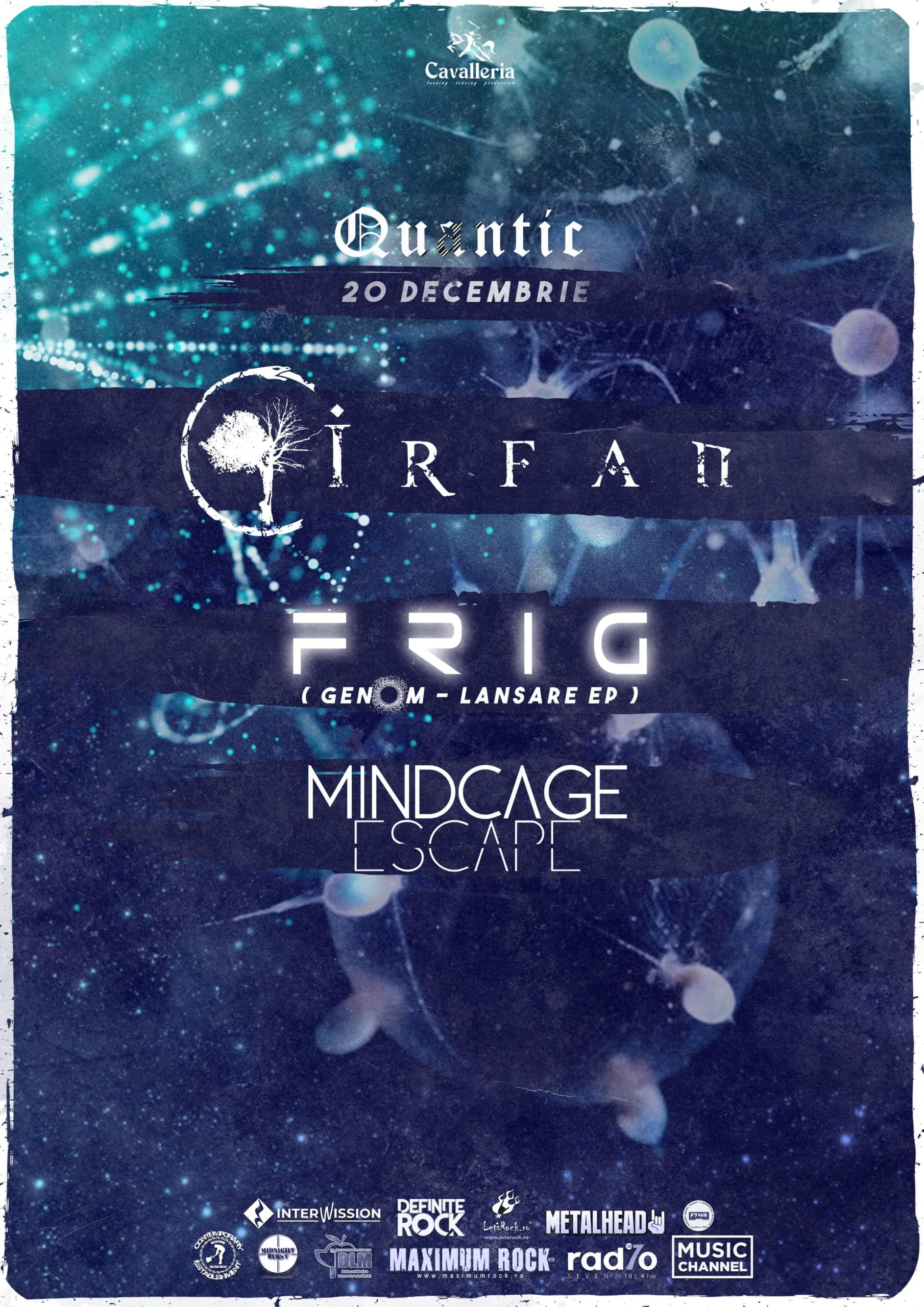 Astral Night: Irfan, Frig si Mindcage Escape in Quantic Club