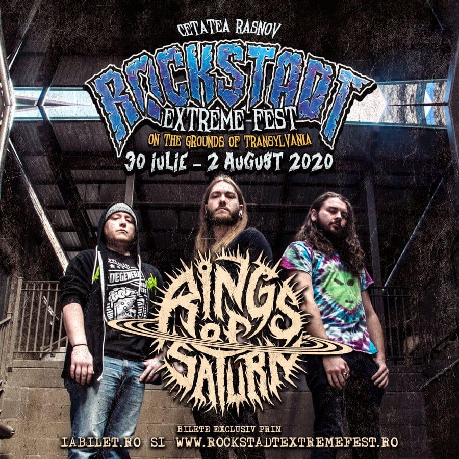 Deathcore american pentru prima dată în România: Rings of Saturn la Rockstadt Extreme Fest 2020!