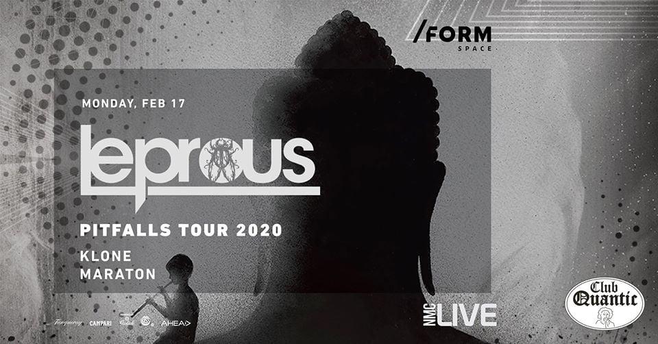 LEPROUS / PITFALLS TOUR AT QUANTIC