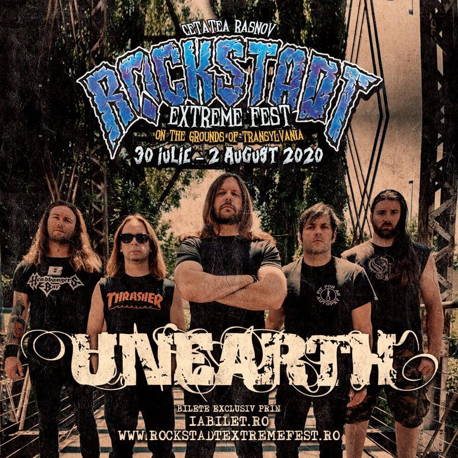 Unearth la Rockstadt Extreme Fest 2020