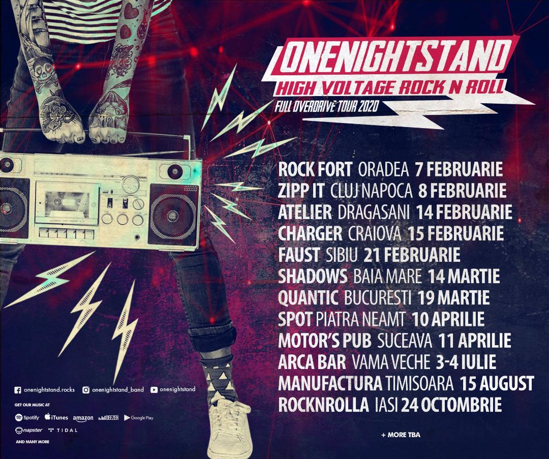 Onenightstand pleaca in turneu!