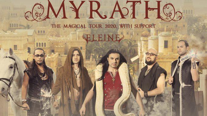 Myrath si  Eleine in Quantic, rock si povesti din 1001 de nopti
