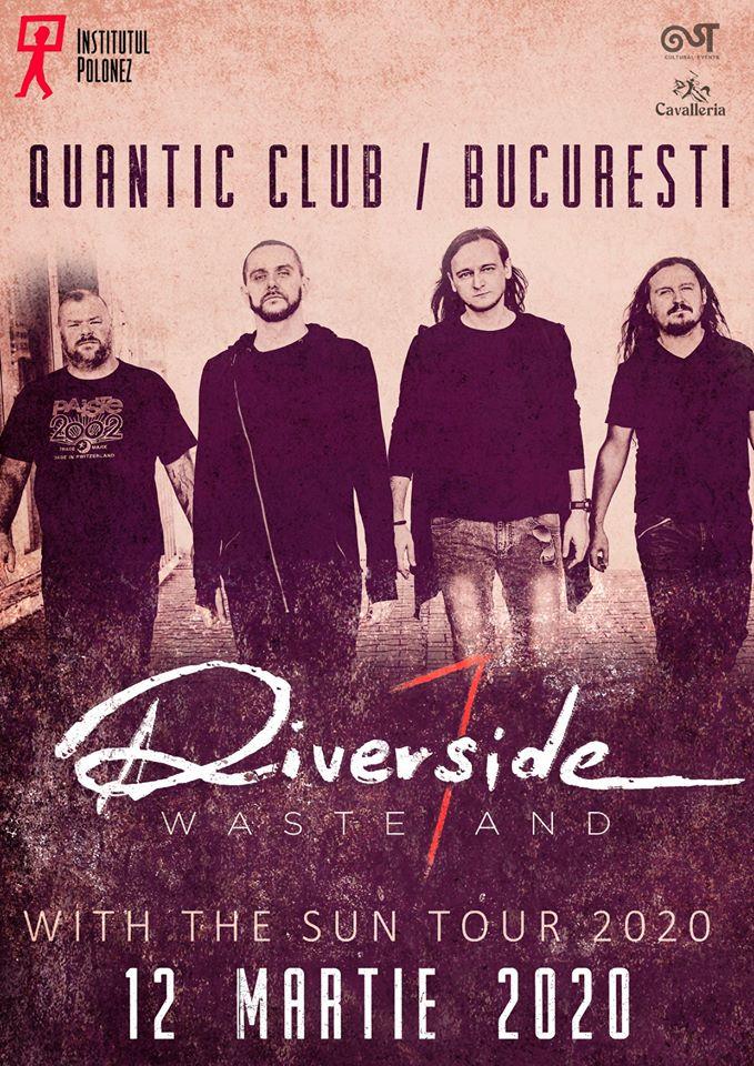 Mesaj video MARIUSZ DUDA, RIVERSIDE: va rugam, veniti, va fi frumos! Celebra formatie poloneza va concerta pe 12 martie in club Quantic din Bucuresti!