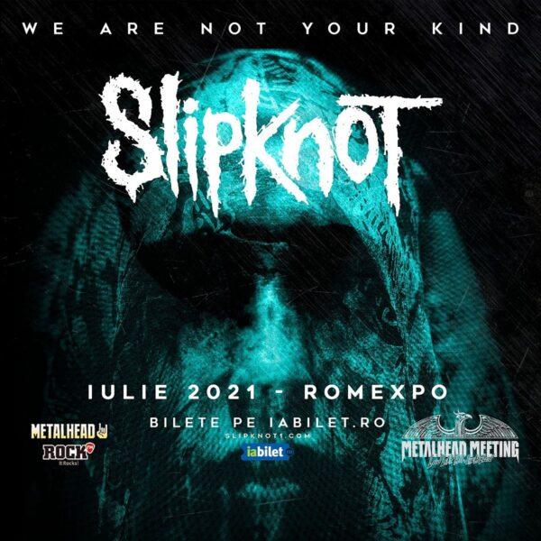 Concertul Slipknot de la Bucureşti se reprogramează în iulie 2021