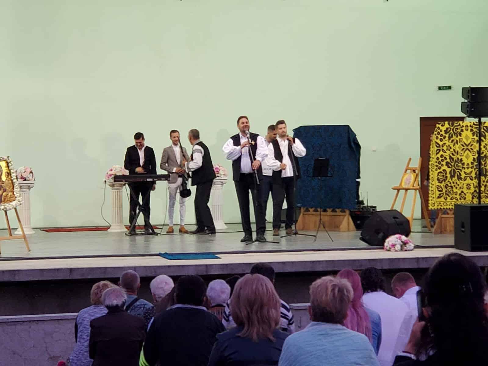 Paula Hriscu – concerte la Biserici