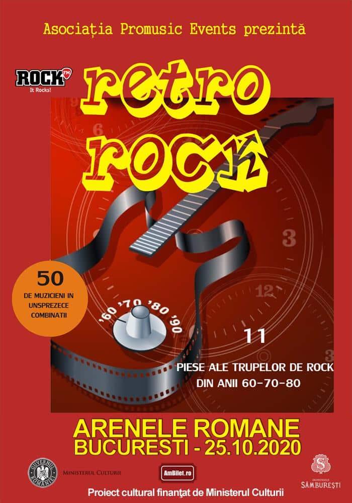 Retro Rock, un eveniment special cu peste 50 de artiști